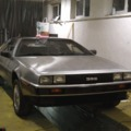 Egy majdnem kész Delorean. / An almost restored Delorean