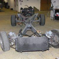 Autó bontás. / Car disassembling