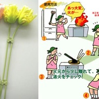 napi szürreál: olajtűzoltó virágok