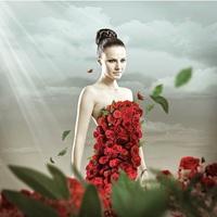 Virágba borult az népszerű énekesnő...