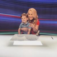 Látogatás a TV2 stúdiójában...