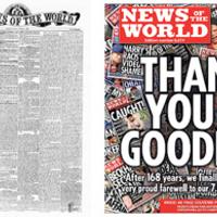 MEGDÖBBENTŐ!!! - Ma jelent meg utoljára a 'News of the World'...