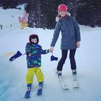 Párja nélkül ment síelni a kétgyermekes anyuka...