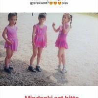 Gyerekkori képet osztott meg a fiatal sportoló...