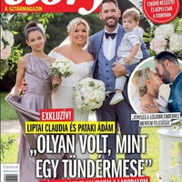 Liptai Claudia esküvője képekben...