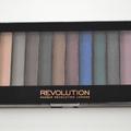 Teszt: Makeup Revolution szemhéjpúder paletta - Hot Smoked
