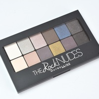 Maybelline The Rock Nudes paletta teszt