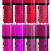 Teszt - Bourjois Rouge Edition Velvet 02 Frambourjoise szájfény