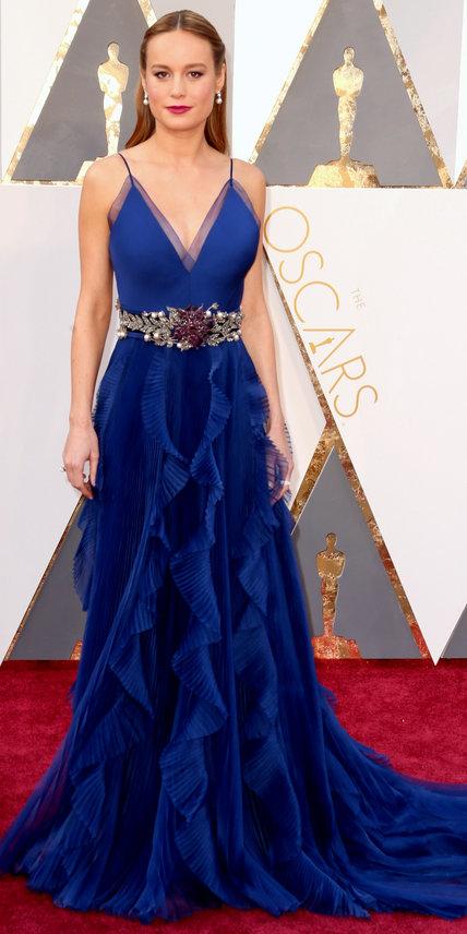 Brie Larson - Ruha: Gucci.