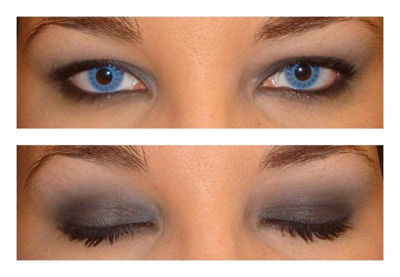 Teszt  Világos kék kontaktlencse barna szemen - Makeup Blog 31481add1c
