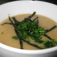 Hagyma-mochi leves gyömbérrel