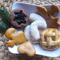 Mini almás és lekváros, karácsonyi aprósütemények