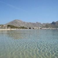 Mallorca legszebb strandjai – Pollenca Beach