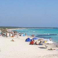 Az egyik legszebb strand Mallorcán: Es Trenc