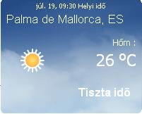 Mallorca időjárása