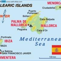 Mallorca térképen