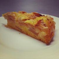 Friss almás-citromos süti