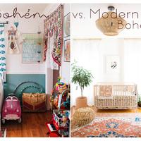 Bohém vs. Modern-bohém babaszoba e1ce7ac5ad