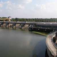 Vízlépcsőn a víztározóig