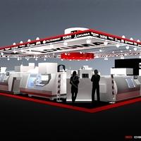 Mandaline terv a MachTech kiállításon: M + E stand