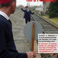 Hív a vasút, áll a MÁV
