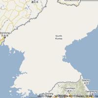 Fehér folt a Google térképen: Észak-Korea