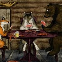Fabula a Farkasról, a Rókáról, a Medvéről és a Méhekről