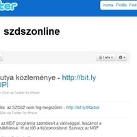 Az MDF és az SZDSZ webmauzóleuma