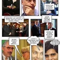 Zsidós-cigányos Orbán-képregény a Jobbiktól