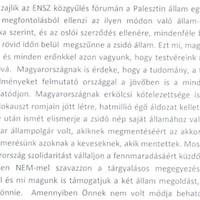 Holokauszt-áldozatokkal Palesztina ellen