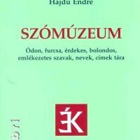 Szómúzeum - Kis primőr könyvcsokor II.