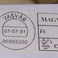 Dézsma a M. Kir. Postán