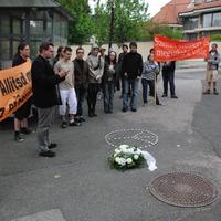 Az izraeli agresszió ellen tüntettek