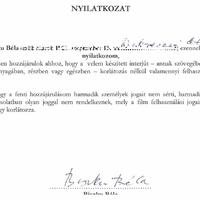 Biszku Béla nyilatkozik és dedikál