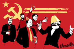 Elmebeteg kommunisták