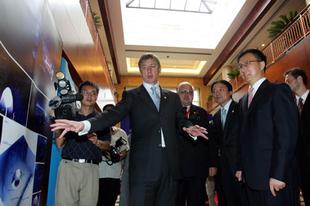 Sanghaji Expó: Két és félmilliárd fixszel