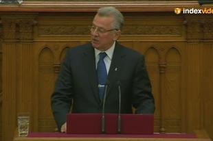 Schmitt Pál búcsúja