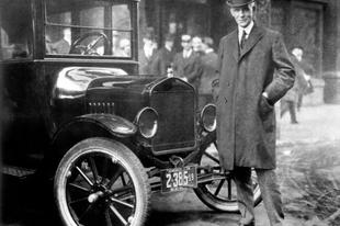 Erzsébet asszony emlékére - Ford Model T