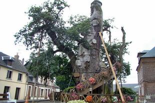 A fába szorult kápolna