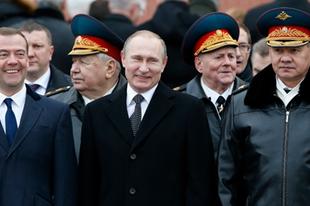 Kétharmadot hozott Putyinéknak a politikai apátia