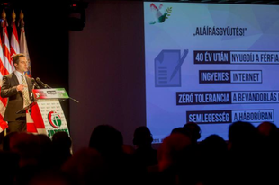 A Jobbik szintet lép – 3+1 erős bekezdés Vona Gábor évértékelőjéből