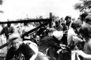 Az első tégla a berlini falból