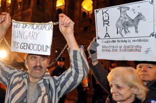 A diktatúra teteje – tüntetési progresszíó