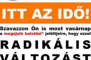 A tökutolsó kampányplakát