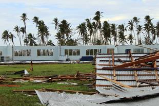 Túlélni Szamoát: ciklonban Óceániában