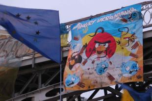 Angry Ukrainians: így tüntetnek Kijevben