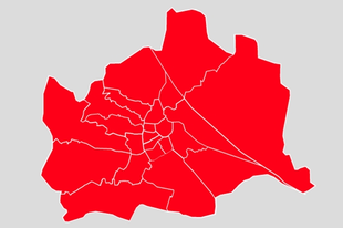 Bécs vörös maradt