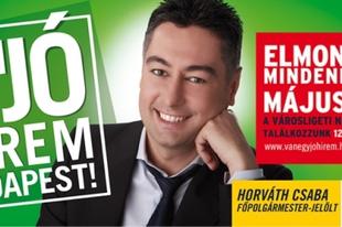 Horváth Csaba, az ország talán legszomorúbb politikusa