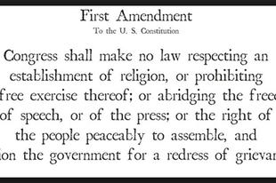 Szólásról, szabadságról, alkotmányok kiegészítéseiről