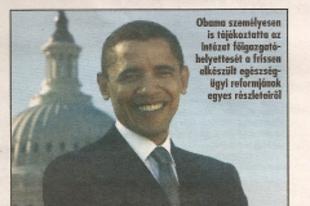 Levél Obamától - közvetlen hangvétel!
